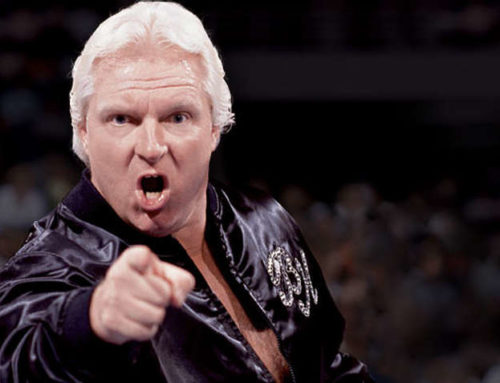"Bobby ""The Brain"" Heenan ""Immobile and Unable To Travel"" 