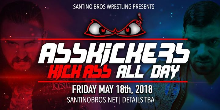 Wrestling Presents Asskickers Kick Ass All Day